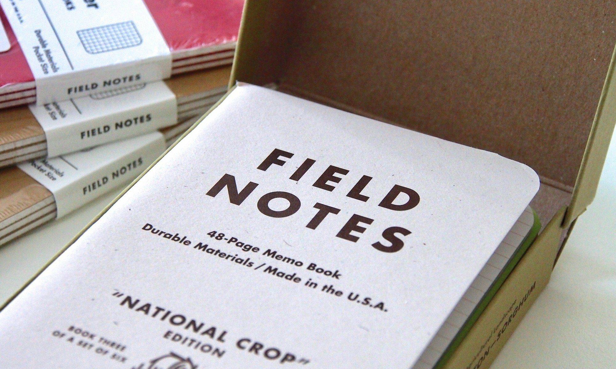 Field Notes - die Crop-Edition   Foto: konsensor.de