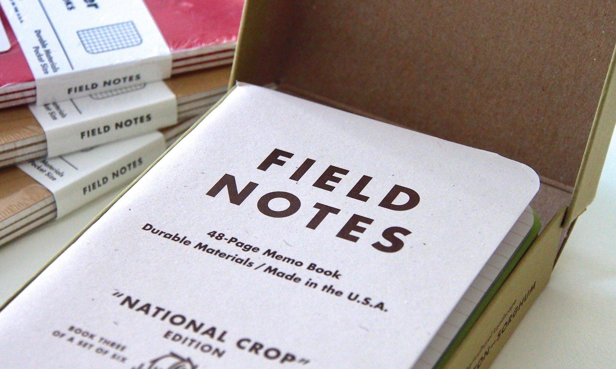 Field Notes - die Crop-Edition | Foto: konsensor.de