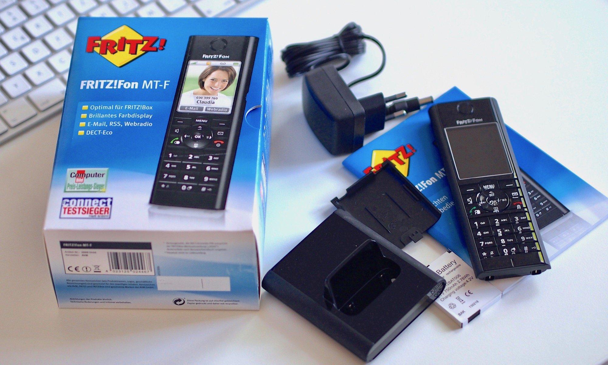 AVM FRITZ!Fon MT-F DECT-Komforttelefon | Foto: konsensor.de