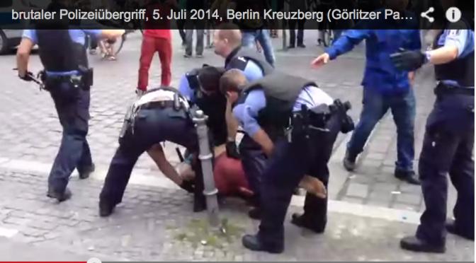 Polizeigewalt in Berlin