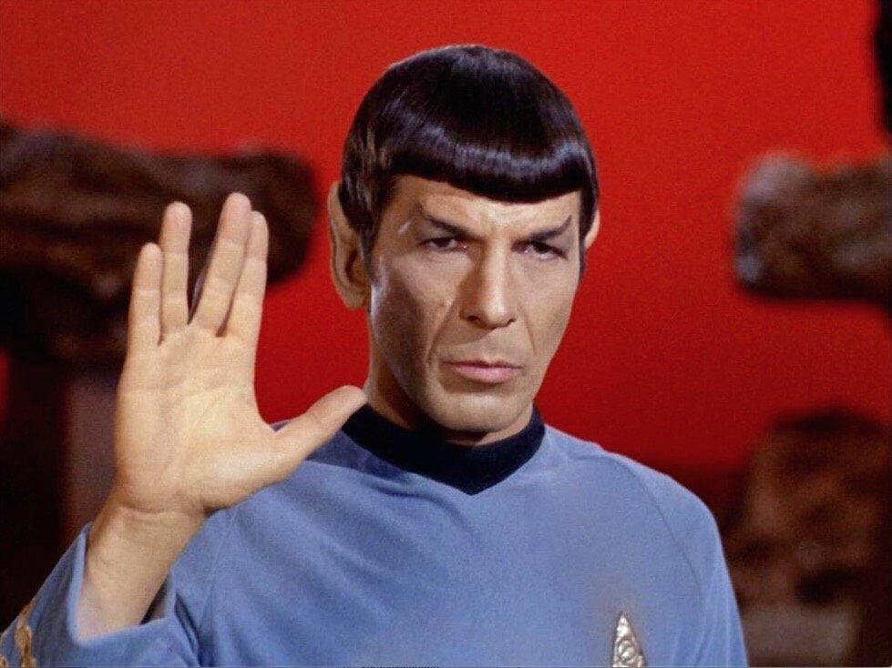 Spock - Leonard Nimoy #LastSaluteToLeonardNimoy