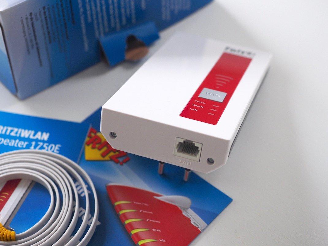 AVM FRITZ!WLAN Repeater 1750E | Foto: konsensor.de
