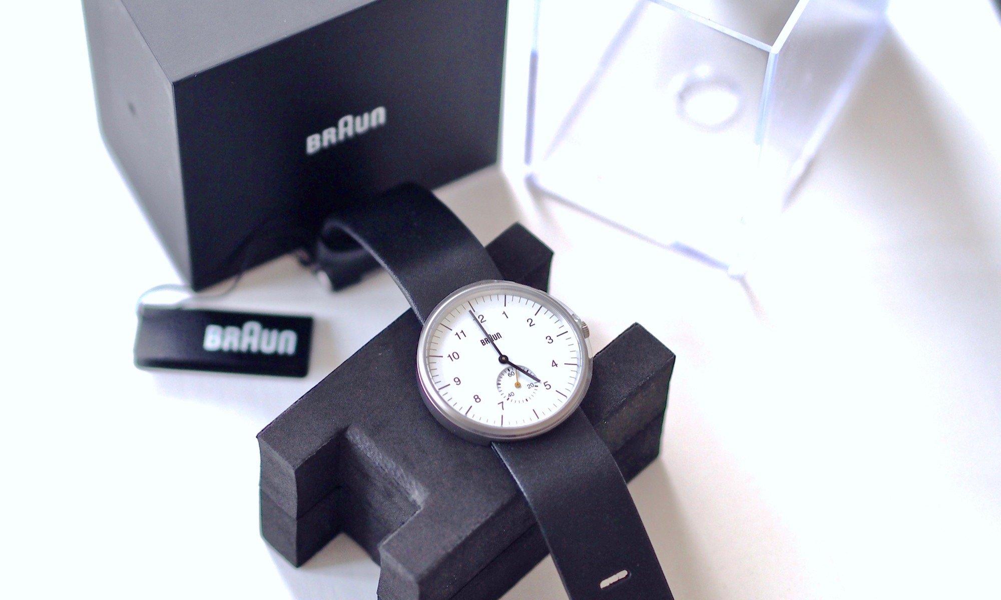 Braun Analog Quarz Armbanduhr BN0024WHBKG | Foto: konsensor.de