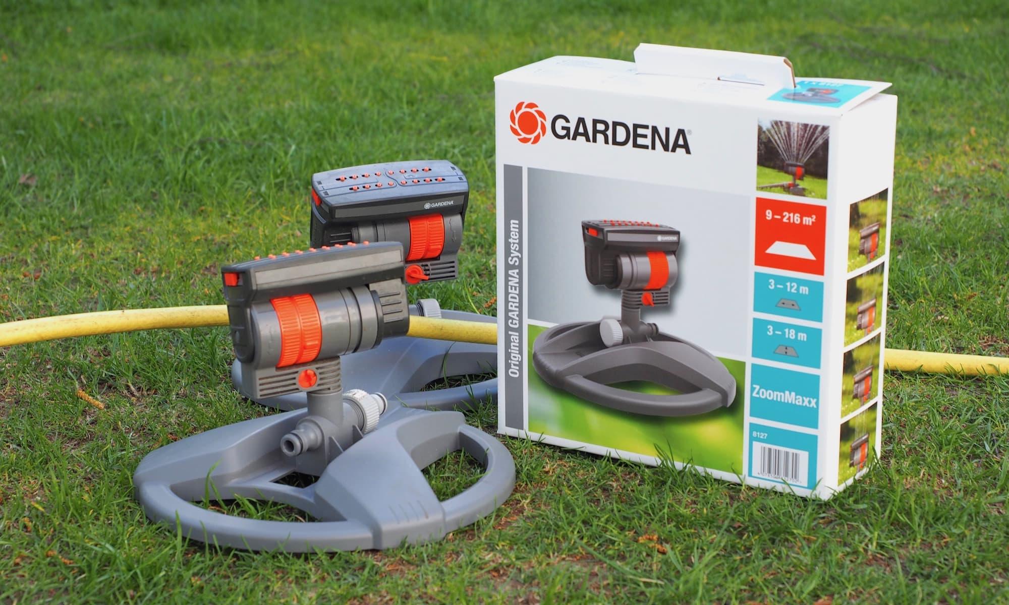 Gardena Viereckregner ZoomMaxx | Foto: konsensor.de