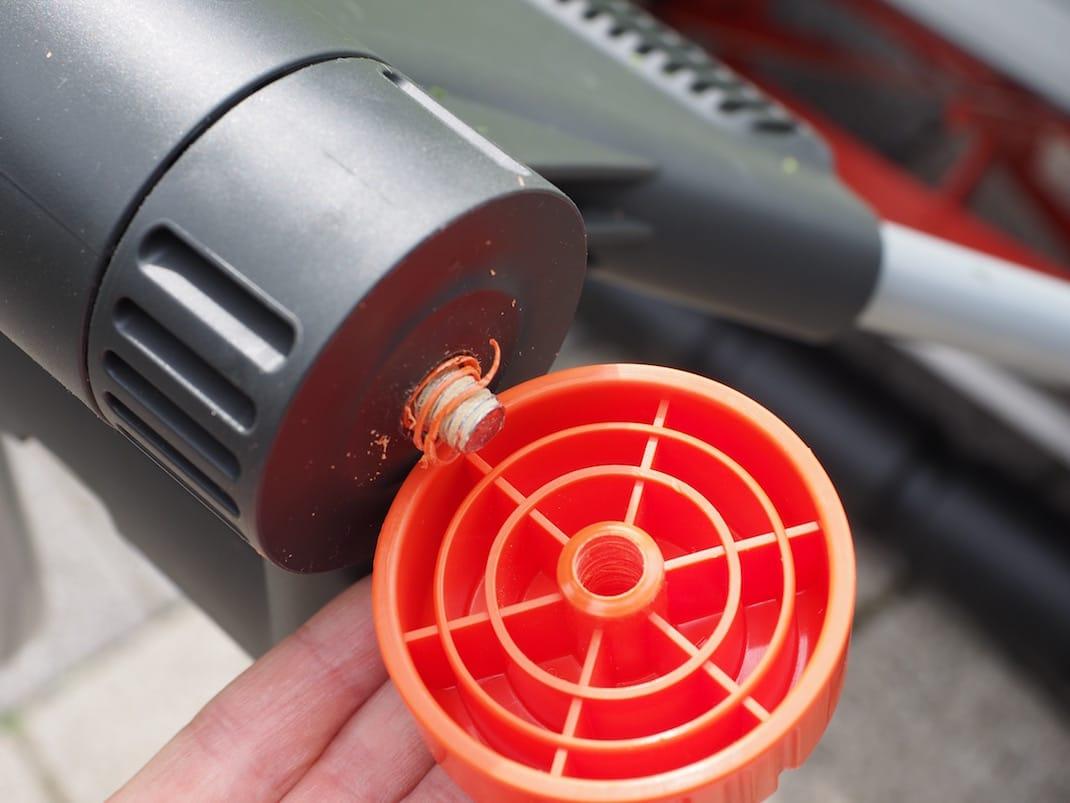 Gardena Comfort Spindelrasenmäher 400 CF | Foto: konsensor.de
