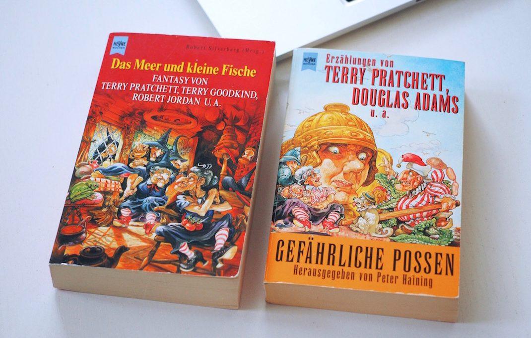 Kurzgeschichten unter anderem von Terry Pratchett   Foto: konsensor.de