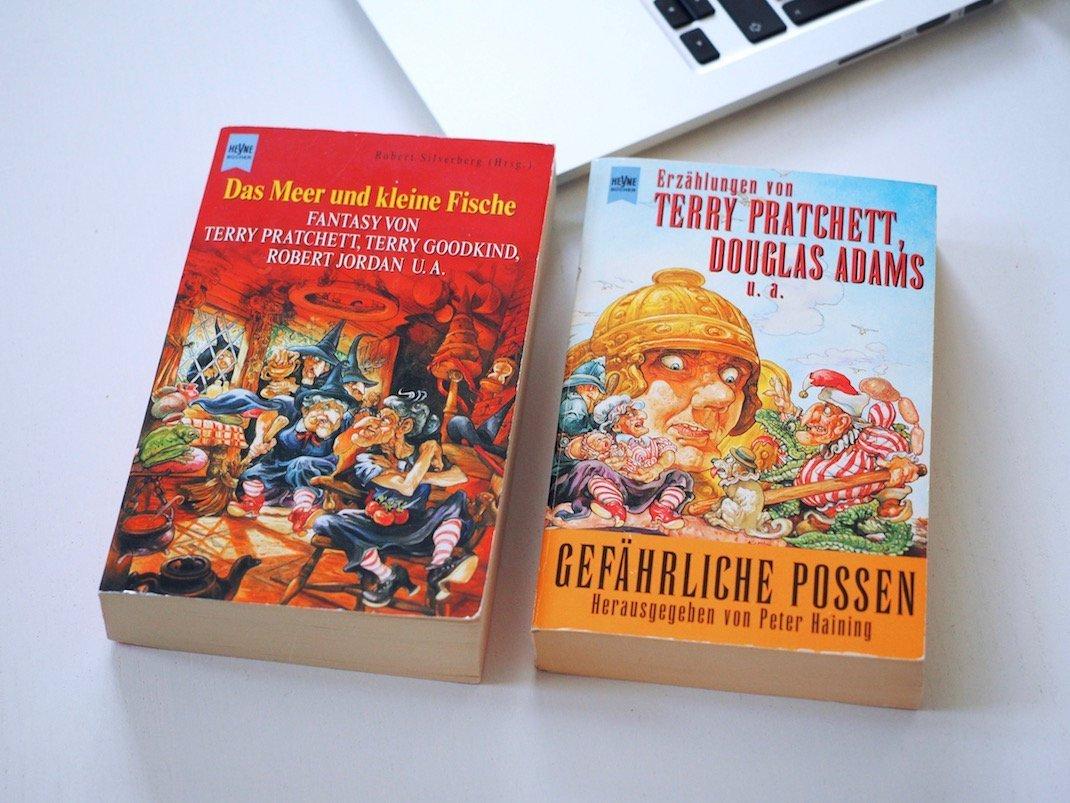 Kurzgeschichten unter anderem von Terry Pratchett | Foto: konsensor.de