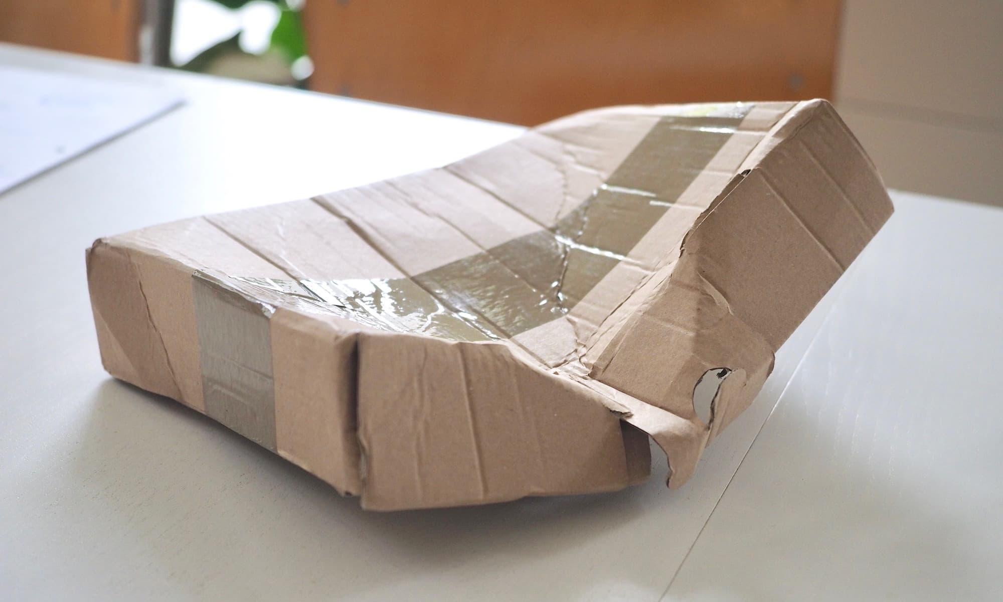 GLS Paket Harakiri im Briefkasten | Foto: konsensor.de