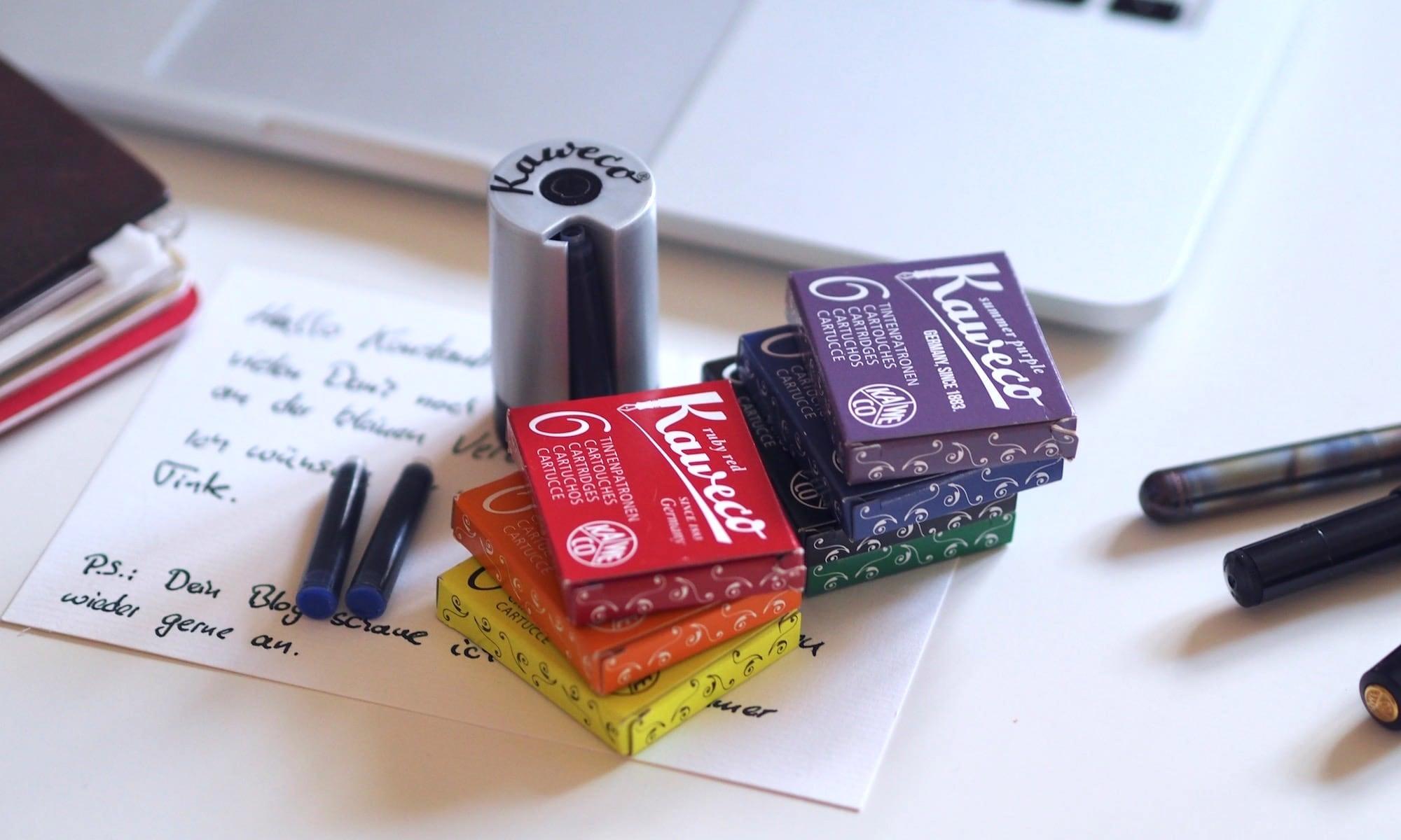Ein Kaweco Tintenpatronen-Set als Überraschung | Foto: konsensor.de