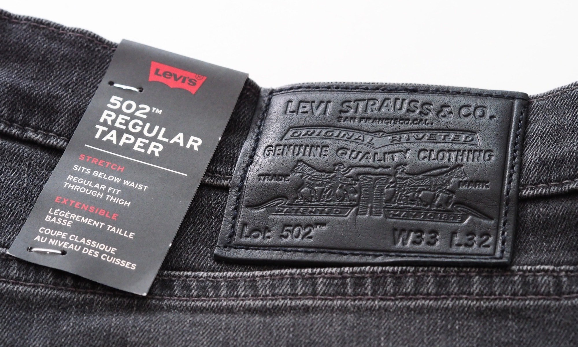 Levi's 502™ Regular Taper Label | Foto: konsensor.de