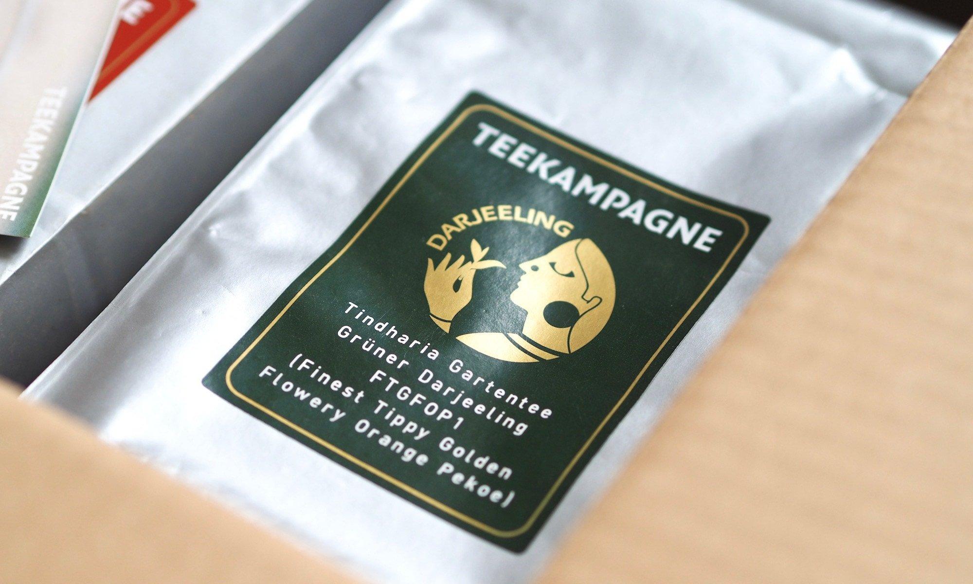 Unsere Teebestellung ist eingetroffen | Foto: konsensor.de